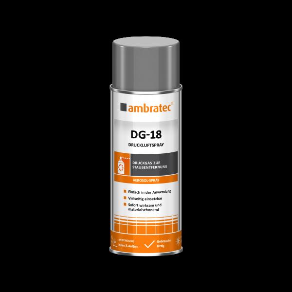 Ambratec DRUCKLUFTSPRAY, DG-18, Aerosol, 400 ml
