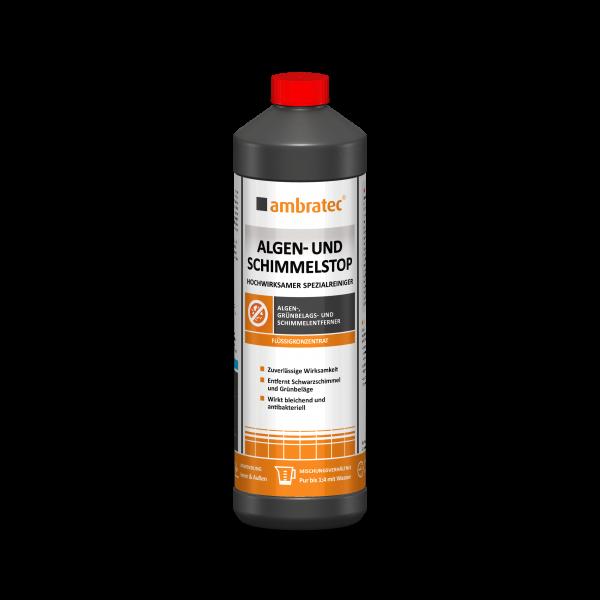 Ambratec Algen- und Schimmelstop Antimikrobieller Spezialreiniger