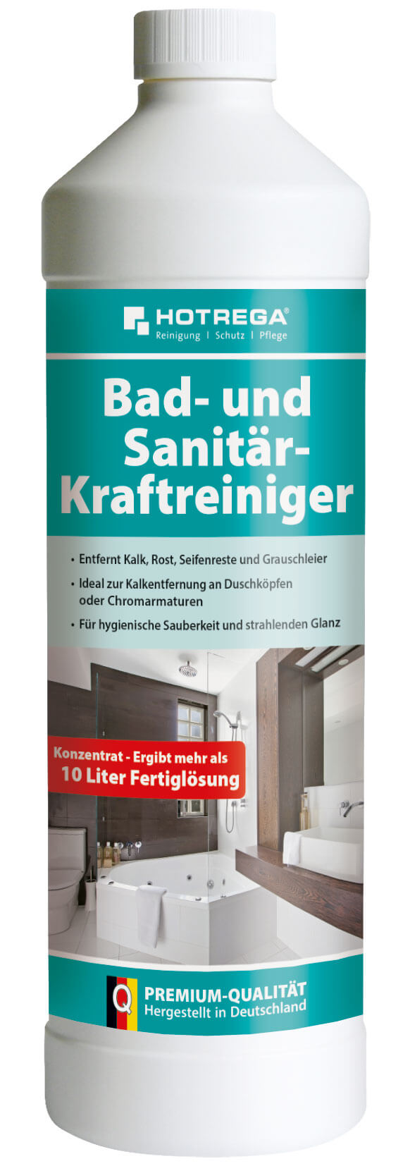 hotrega bad und sanit r kraftreiniger 1 liter flasche konzentrat g nstig online bestellen. Black Bedroom Furniture Sets. Home Design Ideas