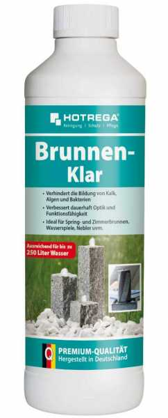 Hotrega Brunnen-Klar 500 ml Flasche (Konzentrat)
