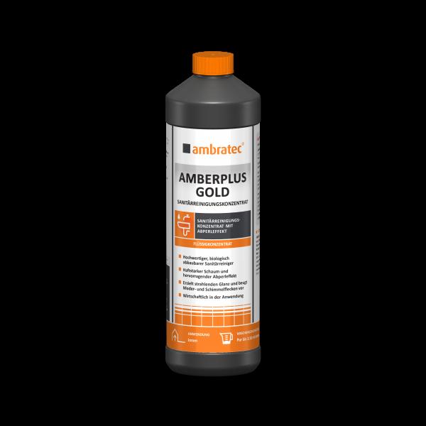 Ambratec SANITÄRREINIGUNGSKONZENTRAT, Amberplus Gold, 1000 ml