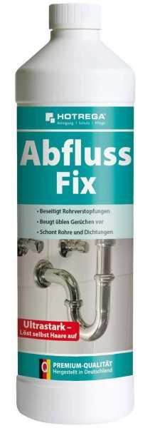 Hotrega Abfluss-Fix 1 Liter Flasche (Konzentrat)