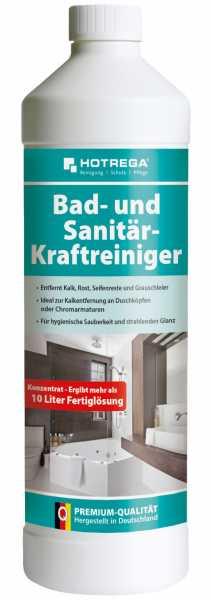 Hotrega Bad und Sanitär-Kraftreiniger 1 Liter Flasche (Konzentrat)